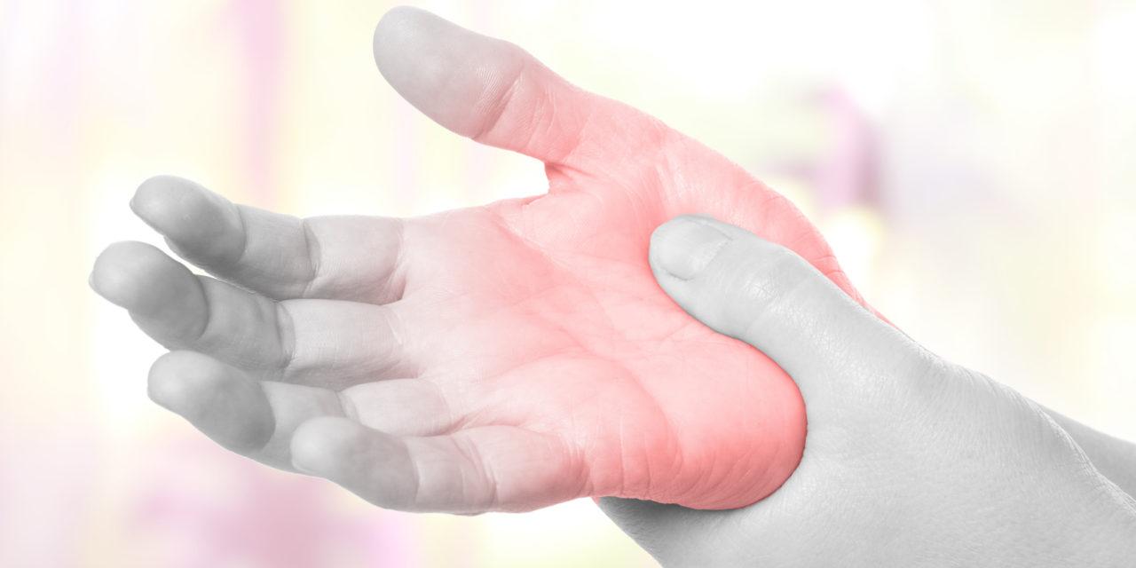 Arthrose an Finger und Handgelenk